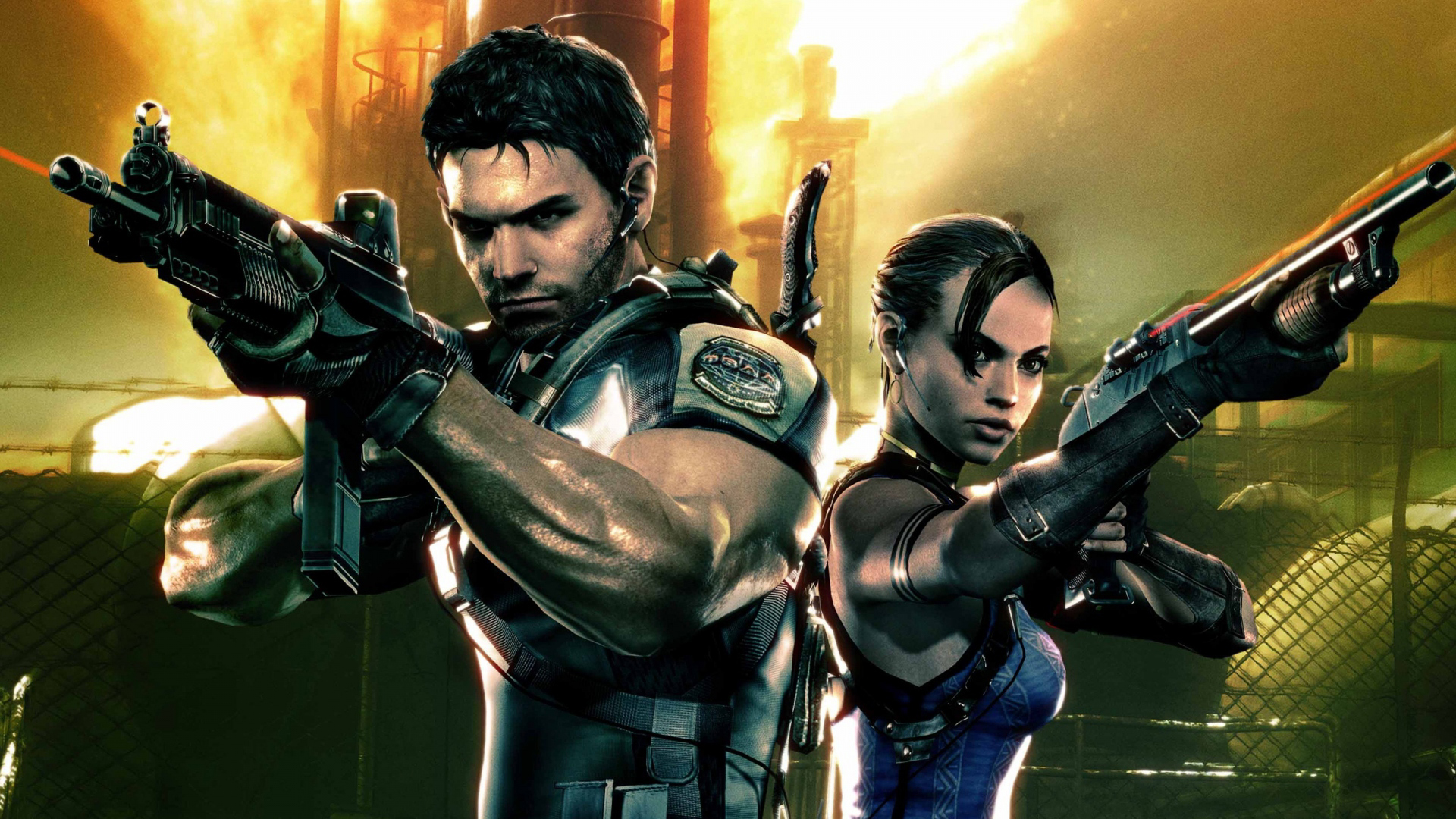 Campaign for Resident Evil 5